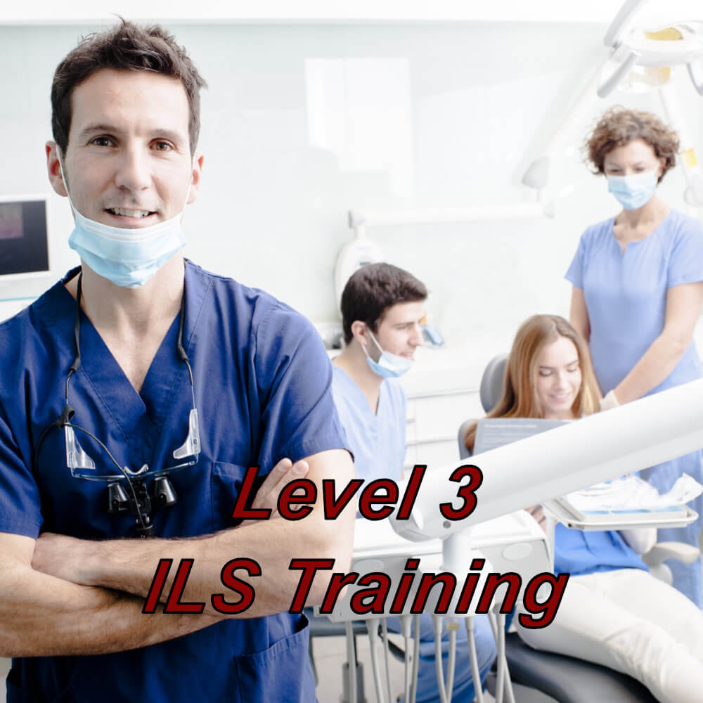 ILS training suitable for dentists, dental nurses & hygienists, e-learning course completed at a time convenient to you.