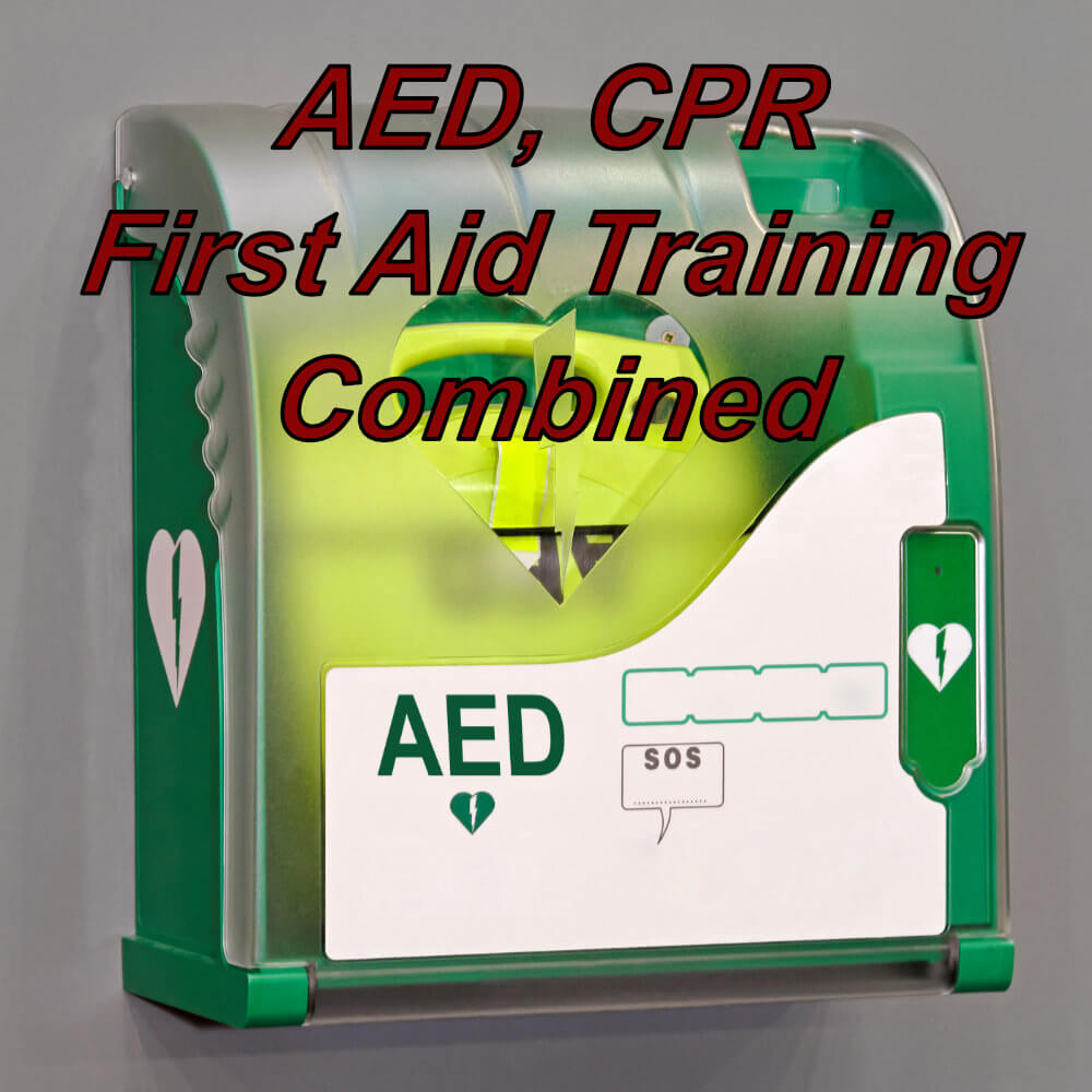 AED, Basic Life Support & First Aid Training combined course, suitable for dentists and the dental environment